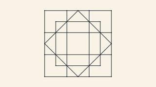 Zagadka - Ile kwadratów jest na rysunku?