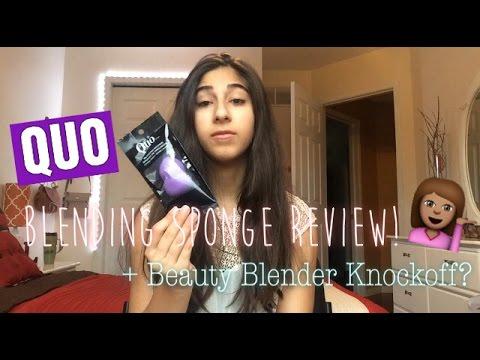 Quo Blending Sponge Review! | Beauty