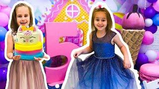 КЛАССНЫЙ День Рождения Юляшки 5 лет Отмечаем с друзьями в мире сладостей