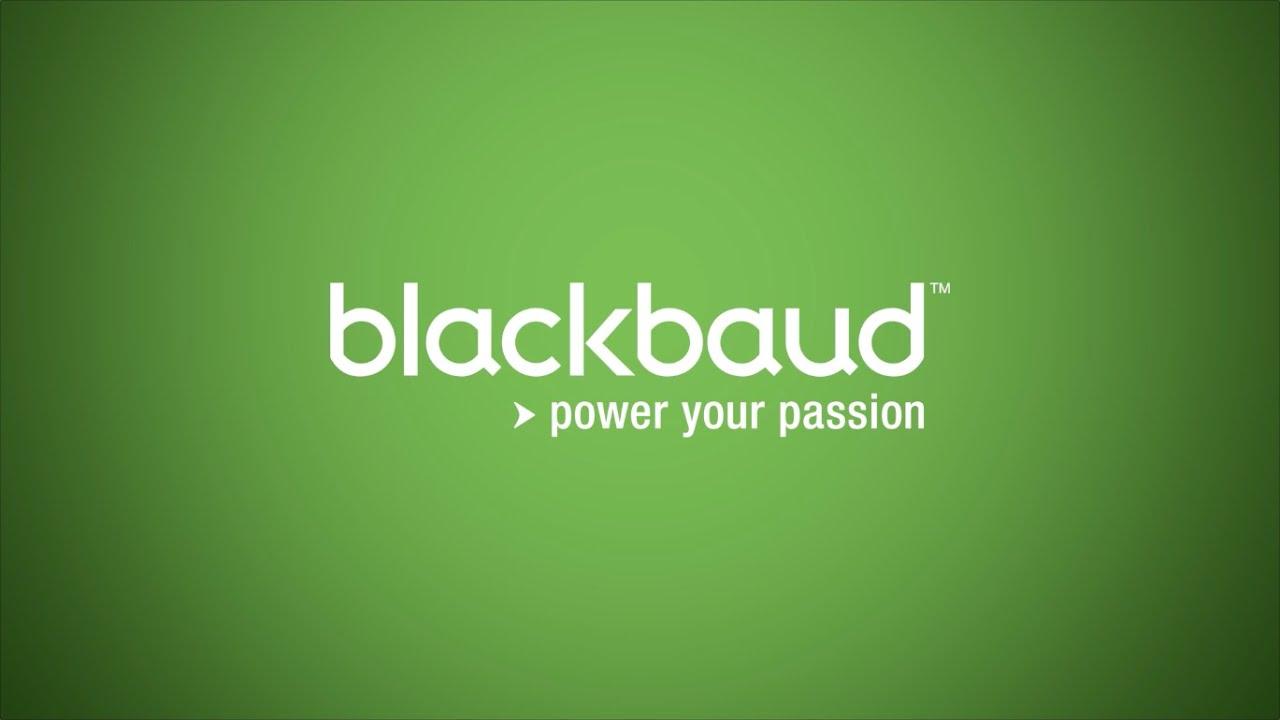 Blackbaud: Powering the Nonprofit Community - YouTube