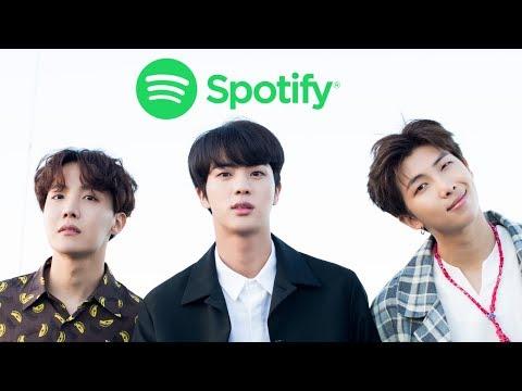 MOST STREAMED 2018 KPOP SONGS ON SPOTIFY (JUNE)