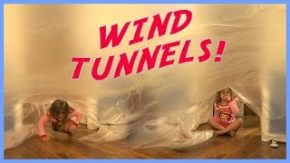 MAKING CRAZY WIND TUNNELS!!