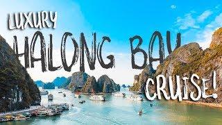 LUXURY HALONG BAY CRUISE, VIETNAM!