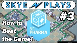 Big Pharma Part 3 ►A Game of Margins (1 of 3)◀ Tutorial/Beta Gameplay
