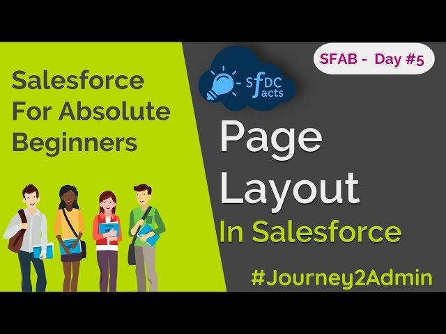 SFAB Day #5 - Page Layouts | Mini Layout | Layout Properties | SFDCFacts