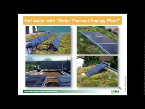 """VS2011#18 - """"Combining Green Roofs with Photovoltaics"""" by Roland Appl"""