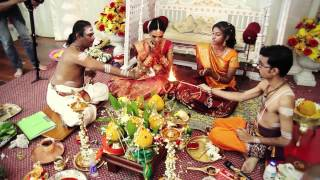 "Indian Hindu Wedding Video - K.Thilakan & S.Kuna. Song: ""pookal pookum """