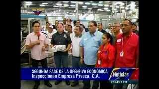 Inspeccionan planta Paveca en Guacara