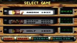 Donkey Kong Country 3 Cheat Codes