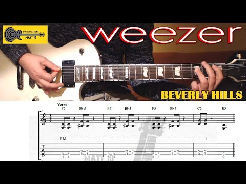 Beverly Hills piano chords - Weezer - Khmer Chords