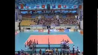 [VTV CUP 2014] Thailand - Kazakhstan