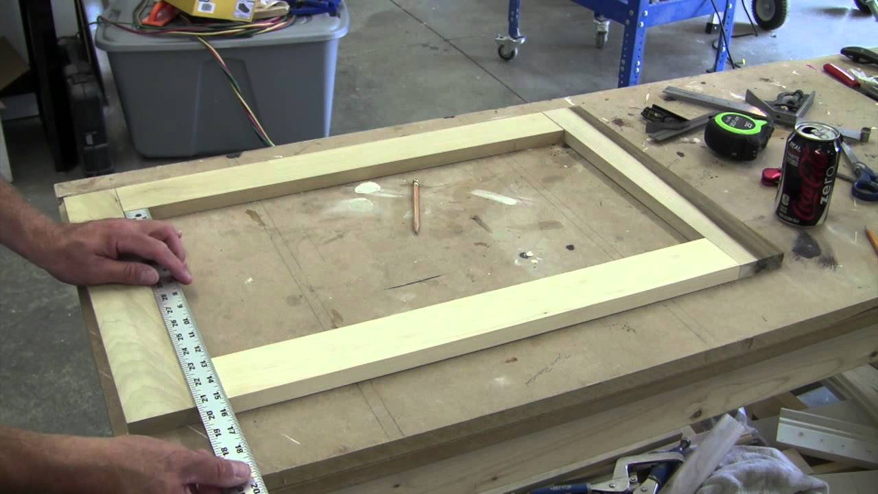Awesome How To Build A Recessed Cabinet Pt 1