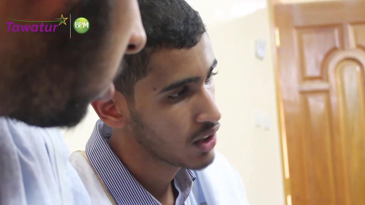 تواتر يحاور المتفوق الأول في مسابقة الباكلوريا شعبة الرياضيات