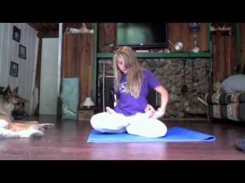 bound lotus position attempt  youtube