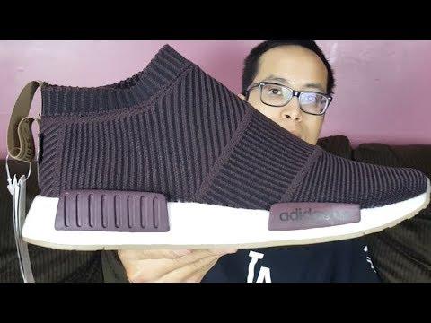 Under Retial Cop! Sneakersnstuff x Adidas NMD CS1 PK Gore-Tex Dark Burgundy  Review! 7d84f9109