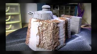 Building Verlinden Productions Tank Turret Bunker. From Start to Finish. Part 2 D-Day Diorama.