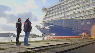 MEYER WERFT Float Out / Ausdocken Spirit of Discovery