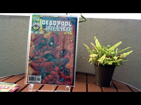 Comic Book Haul for 1/27/2016!  Extraordinary Old Man Avenges Most Wanted in Split Second!