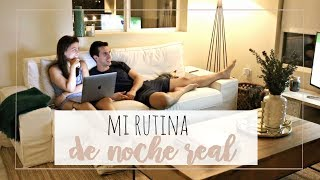 mi RUTINA de NOCHE REAL en LA ♡ NIGHT ROUTINE | Rebeca Chamorro