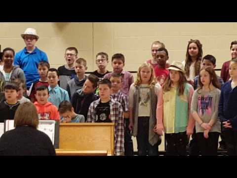 Northrop Elementary school 4th and 5th grade show