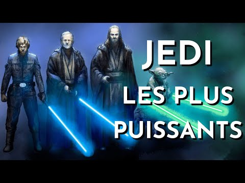 LES 10 CHEVALIERS JEDI LES PLUS PUISSANTS (univers officiel)