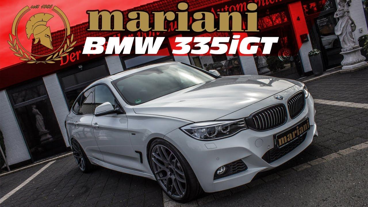 BMW 335i GT Tuning I Auspuff  Felgen  Fahrwerk by mariani  YouTube