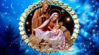 С Рождеством 2018! Красивое видео поздравление