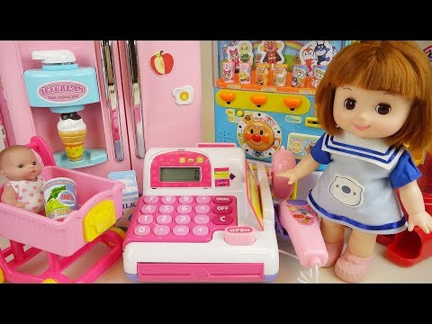 Thumbnail: Baby Doli and Mart food toys Baby doll kitchen toys play