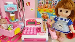 Baby Doli and Mart food toys Baby doll kitchen toys play