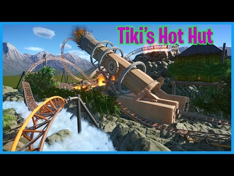 Tiki's Hot Show & BBQ Party! Coaster Spotlight 449 | Contest Entry #PlanetCoaster