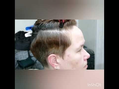Короткая Пикси на кудрявые волосы