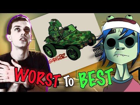 Gorillaz - Gorillaz (Self Titled) WORST TO BEST