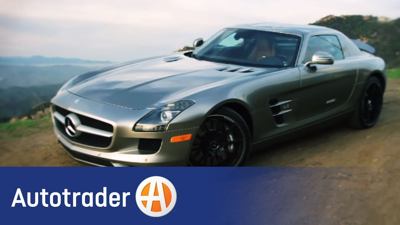 2012 mercedes benz sls amg coupe new car review for Autotrader mercedes benz