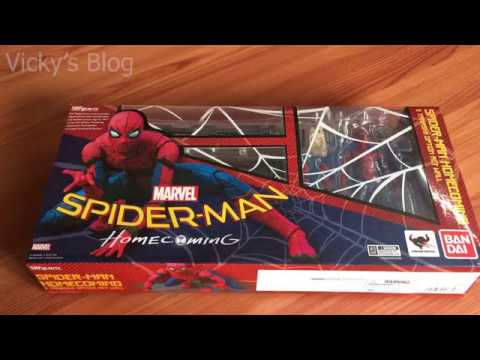 Spider-Man Homecoming /& Option Act Wall Set S.H Figuarts Action Figure Bandai