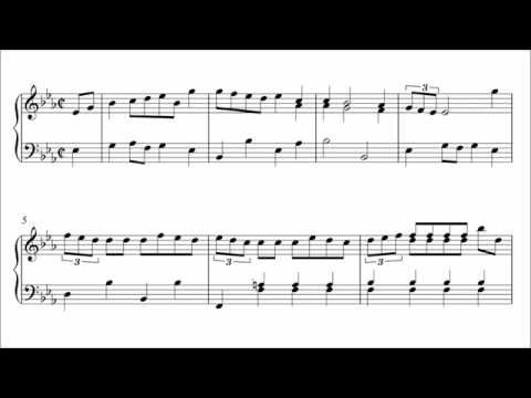 Bach: March in E-flat Major, BWV Anh. 127 (Urtext Edition)