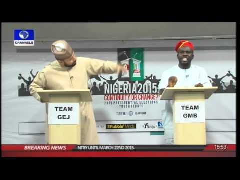 PDP Vs. APC Supporters On A Debate Ground (prt4)
