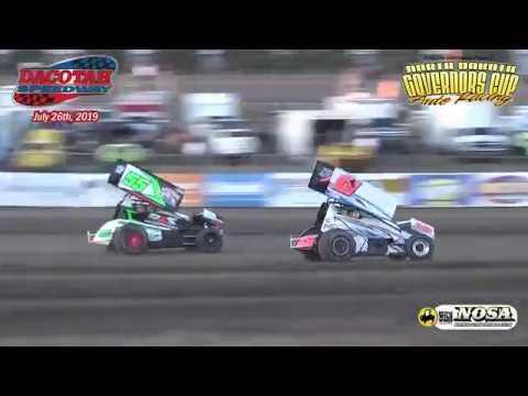 Dacotah Speedway Sprint Car Heats (7/26/19)