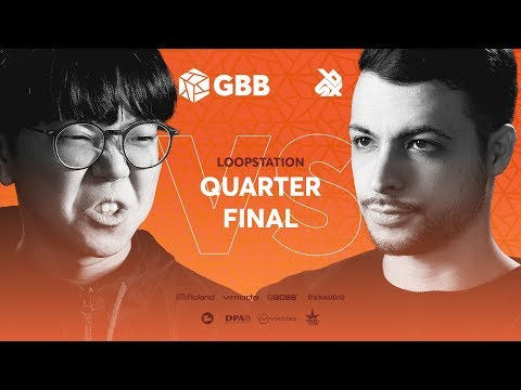 SO-SO Vs BEATNESS | Grand Beatbox Battle 2019 | LOOPSTATION 1/4 Final