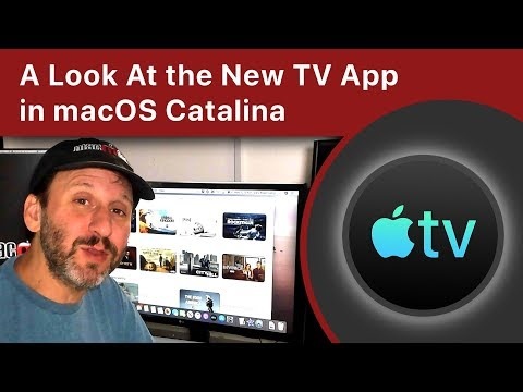 A Look At The New TV App In MacOS Catalina