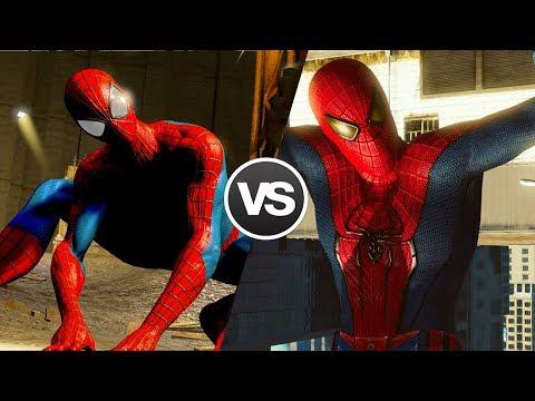 Лучшая игра по Новому Человеку-Пауку [The Amazing Spider-Man VS The Amazing Spider-Man 2]