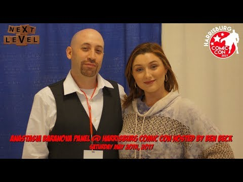 Anastasia Baranova Panel @ Harrisburg Comic Con / Sunday May 21st, 2017