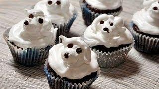 cupcakes de chocolate con betn de merengue chocolate cupcakes with merengue frosting