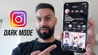 How To Turn On Instagram Dark Mode