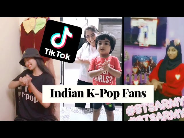 Indian K-Pop Fans TikTok Compilation (We get turnt up) | KPOP High India