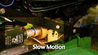 John Deere AutoConnect Drive over mower decks