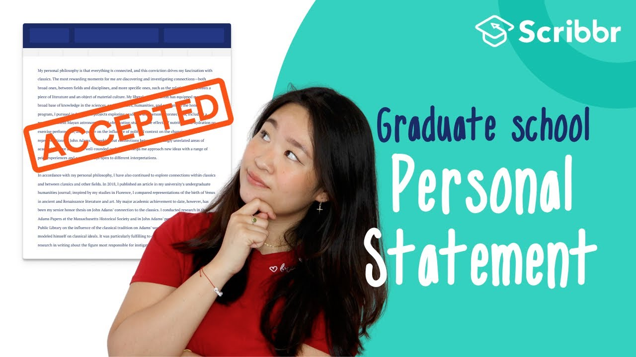 How to write a phd personal statement