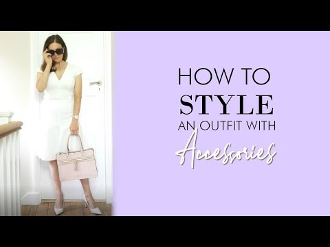 How to Style an Outfit with Accessories 2019 | Fashion Over 40
