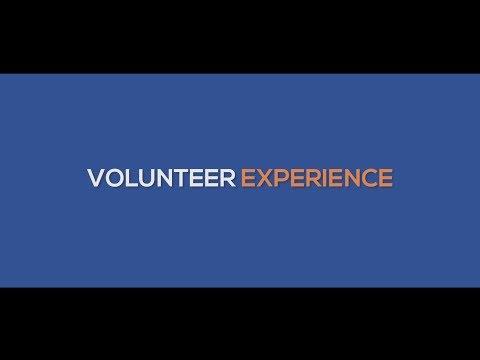 VOLUNTEERS EXPERIENCE
