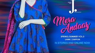 J. Junaid Jamshed Summer Collection 2017 Mera Andaaz Vol. 3