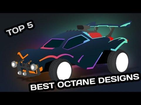 Top 5 Best Octane Designs - Rocket League